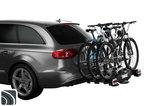 Thule VeloCompact 3 7-pin met fietsen