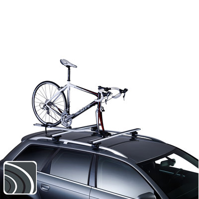 Thule Outride 561 aluminium dak fietsdrager | Voorvork montage