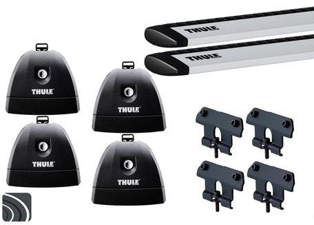 Thule dakdragers | Mercedes CLS Shooting Brake | X218 van 2012 tot 2018 | WingBar