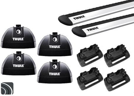 Thule dakdragers | Jeep Compass | vanaf 2017 | Dichte rails | WingBar Evo