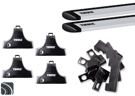 Thule dakdragers | Hyundai Tucson | 2004 tot 2010 | Glad dak | WingBar