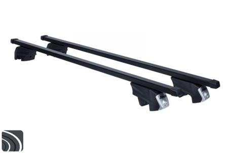 Atera dakdragers | Hyundai ix35 | 2010 tot 2015 | Dichte railing | RTD Staal