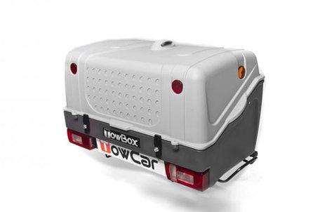 TowBox V1 | Grey Edition | Trekhaakkoffer