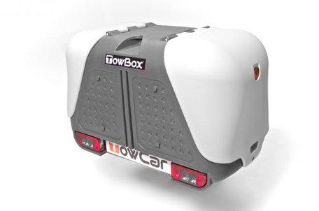 TowBox V2 | Grey Edition | Trekhaakkoffer