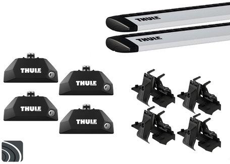 Thule dakdragers | BMW X2 | F39 vanaf 2018 | Dichte railing | WingBar