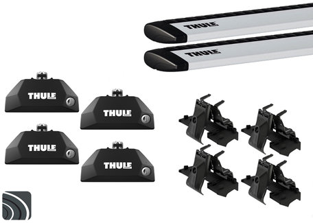 Thule dakdragers | Mitsubishi Outlander PHEV | vanaf 2013 | Wingbar