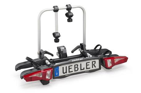 Uebler F24 (15950) | Trekhaak fietsendrager | opvouwbaar | 2 elektrische fietsen