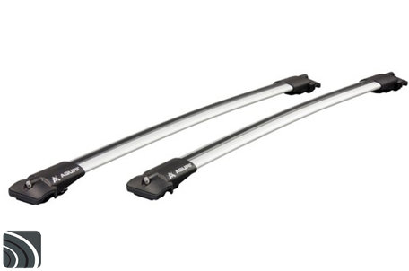 Aguri dakdragers | Volvo V50 | 2004 tot 2012 | Dakrailing | Aluminium