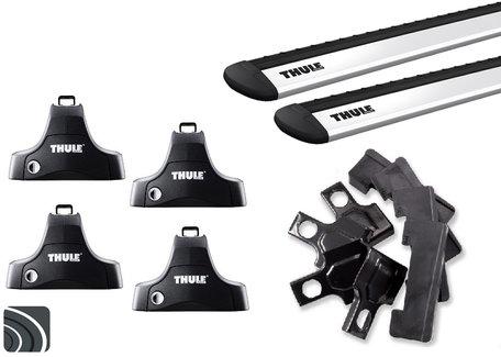 Thule dakdragers | Volvo V60 Plug in Hybrid | 2013 tot 2018 | Glad dak | WingBar