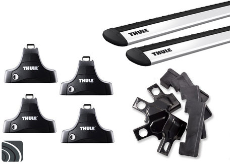Thule dakdragers | Peugeot 208 5-deurs | 2012 tot 2019 | WingBar