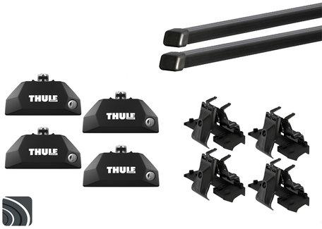 Thule dakdragers | Peugeot 508 SW | 2010 tot 2019 | Dichte rails | Squarebar
