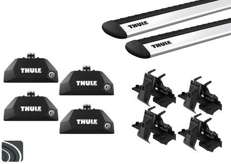 Thule dakdragers | BMW X4 | F26 van 2014 tot 2018 | Dichte rails | WingBar