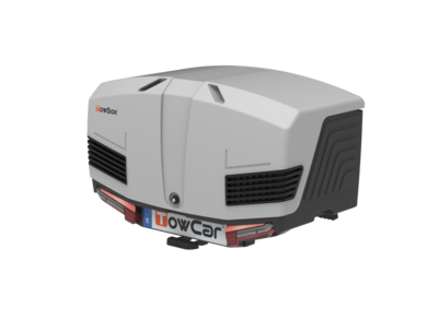 TowBox V3 | Classic Black - Gray Edition | Trekhaakkoffer | 400L