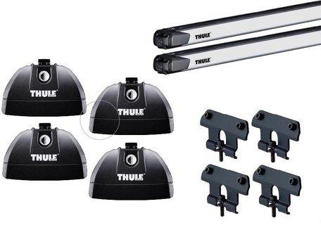 Thule dakdragers | Cadillac Escalade 5-deurs | vanaf 2015 met geïntegreerde Rails | SlideBar 144