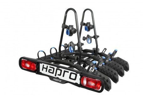 Hapro Atlas Active 4 | Trekhaak Fietsendrager | 4 Fietsen | 7-Polig