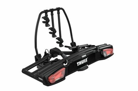 Thule VeloSpace XT 3 Black (939B) | Trekhaak fietsendrager | uitbreidbaar | 3 fietsen