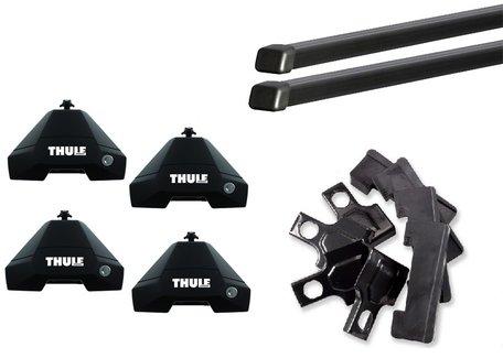 Thule dakdragers | Honda Civic | sedan vanaf 2017 | SquareBar Evo