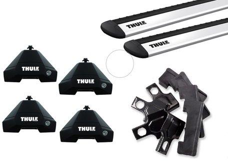 Thule dakdragers | Honda Civic | 5-deurs van 2012 tot 2017 | WingBar Evo