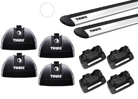 Thule dakdragers | Honda HR-V vanaf 2015 | WingBar Evo  | Geïntegreerde railing