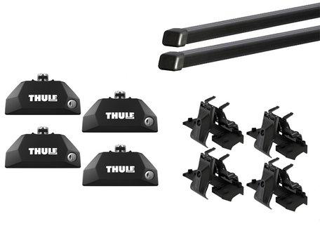 Thule dakdragers | Audi E-Tron 5-deurs | Sportback vanaf 2020 | geïntegreerde railing | SquareBar