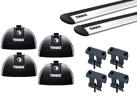 Thule dakdragers | Subaru Legacy | 5-deurs van 2003 tot 2009 | WingBar Evo | Fixpoints