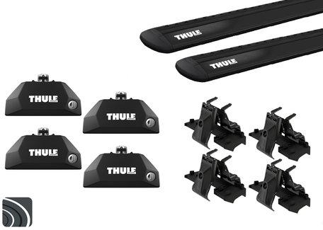 Thule dakdragers | Subaru Outback | 2003 tot 2009 | WingBar Evo Black
