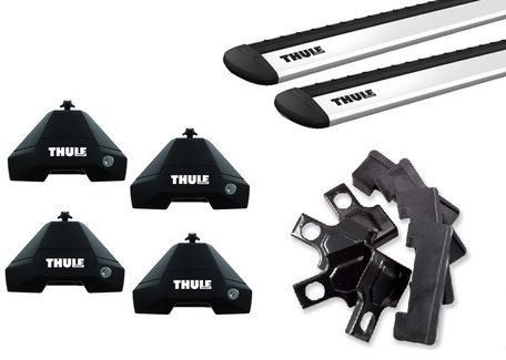 Thule dakdragers | Audi A3 | Sportback vanaf 2020 | WingBar Evo