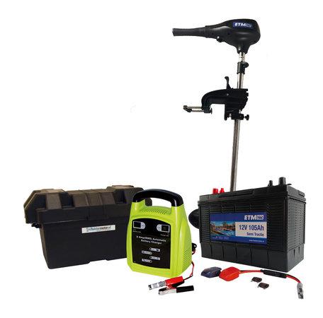ETM-TEC Ocean 65 | Fluistermotor | Standaard set | 65 lbs