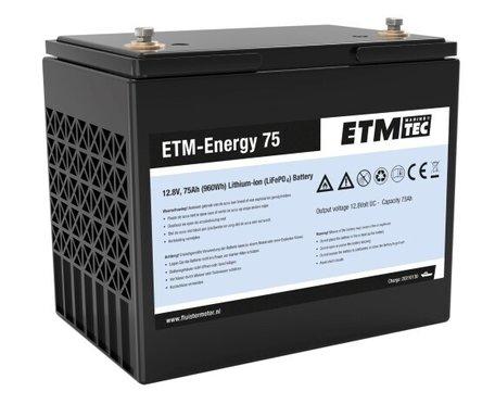 ETM-Energy 75 Lithium-Ion accu | 75Ah