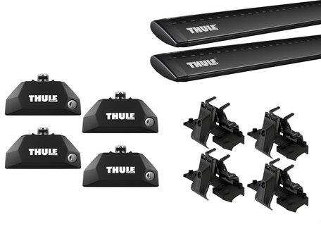 Thule WingBar Evo Black dakdragers   BMW iX3 vanaf 2021   Geïntegreerde railing
