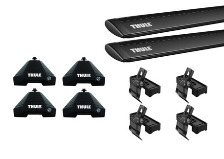 Thule WingBar Evo Black dakdragers | Volkswagen Arteon Shooting Brake vanaf 2021 | Normaal dak