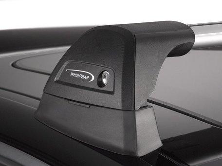 Whispbar dakdragers Peugeot 4008 vanaf bouwjaar 2012 met vaste bevestigingspunten | Complete set met Flush Bars