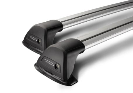 Whispbar dakdragers Peugeot 207 van bouwjaar 2006 tot 2012  | Complete set met Flush Bars