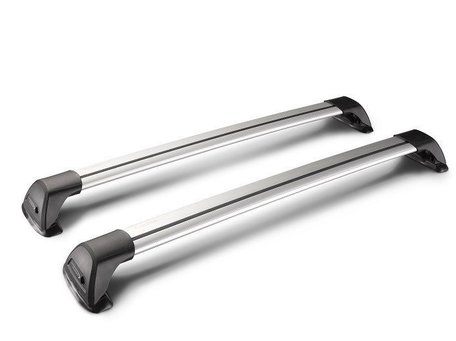 Whispbar dakdragers Mitsubishi ASX vanaf 2010 | Complete set met Flush Bars