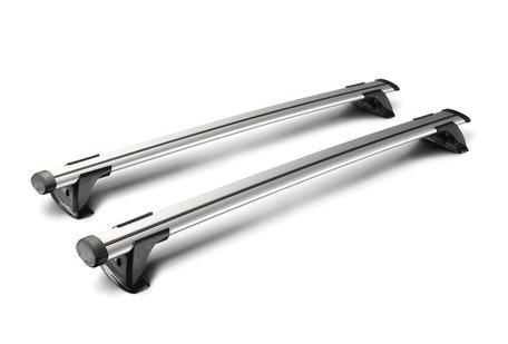 Whispbar dakdragers Mitsubishi Pajero | Complete set met Through Bars