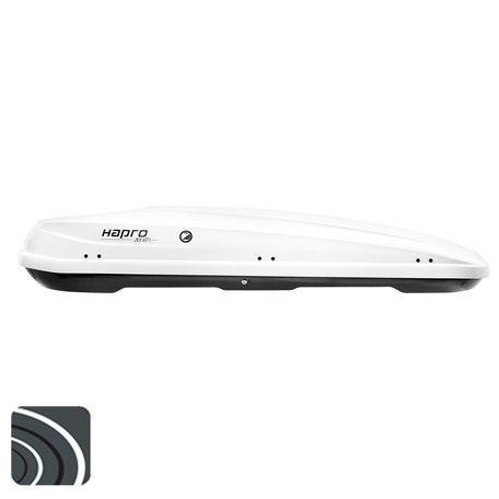 Hapro Zenith 8.6 dakkoffer | Pure White