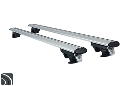 Atera Signo RTD 048537 dakdragers voor gesloten railing | Aluminium TheAero dragerstangen