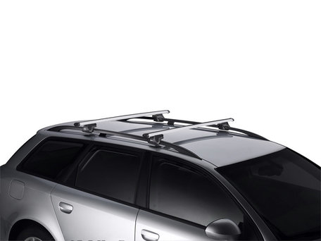 Thule SmartRack 794 dakdragers met aluminium Aerobar voor auto's met dakrailing