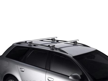 Thule SmartRack 795 dakdragers met aluminium Aerobar voor auto's met dakrailing