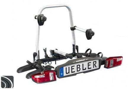 Uebler F22 (15820) | Trekhaak fietsendrager | opvouwbaar | 2 (elektrische) fietsen