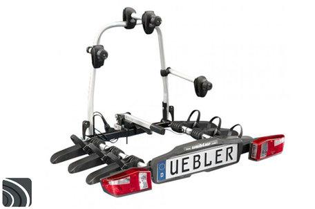 Uebler F32 (15830) | Trekhaak fietsendrager | opvouwbaar | 2 (elektrische) fietsen