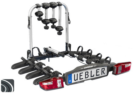 Uebler F42 (15840) | Trekhaak fietsendrager | opvouwbaar | 4 fietsen