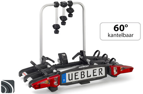Uebler i31 (15910) | Trekhaak fietsendrager | opvouwbaar | 3 fietsen
