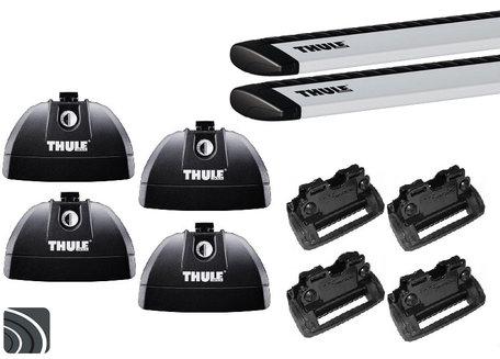 Thule dakdragers | Ford Focus wagon | 2011 tot 2018 | Dichte rails | WingBar