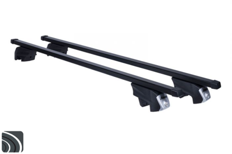 Atera dakdragers | Ford Mondeo wagon | 2012 tot 2014 | Dichte rails | Staal