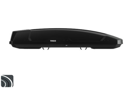 Thule Force XT Alpine | Black Aeroskin | Dakkoffer