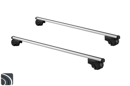 TwinnyLoad dakdragers | Nissan Qashqai | vanaf 2014 | Dakrailing | Aluminium
