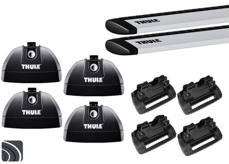 Thule dakdragers | Opel Zafira | vanaf 2011 | Dichte railing | WingBar