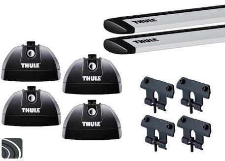 Thule dakdragers | Mercedes C-Klasse Sedan | W205 vanaf 2014 | WingBar