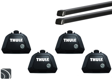 Thule Evo dakdragers | Audi A6 Allroad | 2012 tot 2018 | Squarebar
